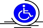 DLD wheelchair rental logo
