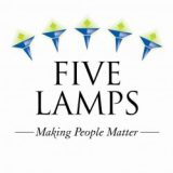 The Five Lamps Logo