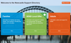 Newcastle Support Directory Logo