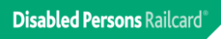 Disabled Persons Railcard Logo