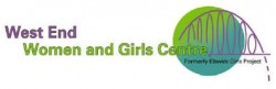west end women and girls logo