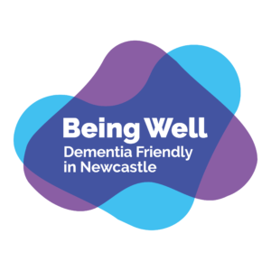 Being Well Dementia Friendly in Newcastle logo