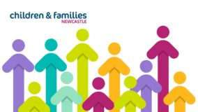 children and families Newcastle logo 2021