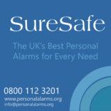 Sure Safe Alarms logo